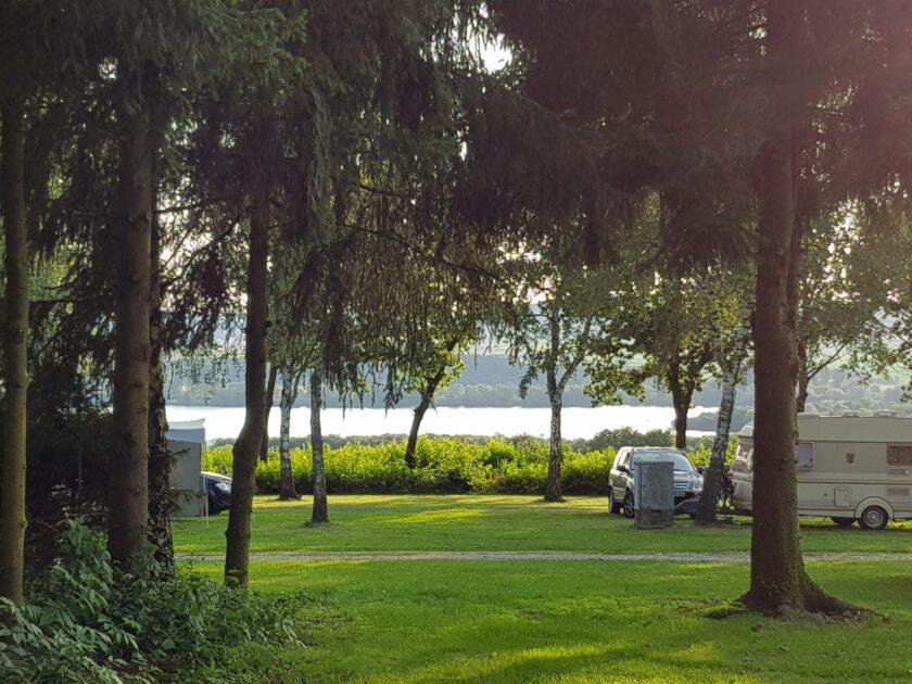 Northeimer Seenplatte vom Campingplatz aus