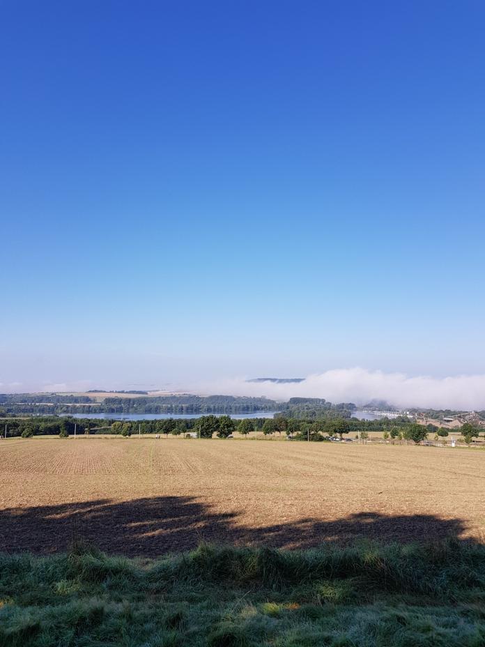 Nebelfeld über der Northeimer Seenplatte