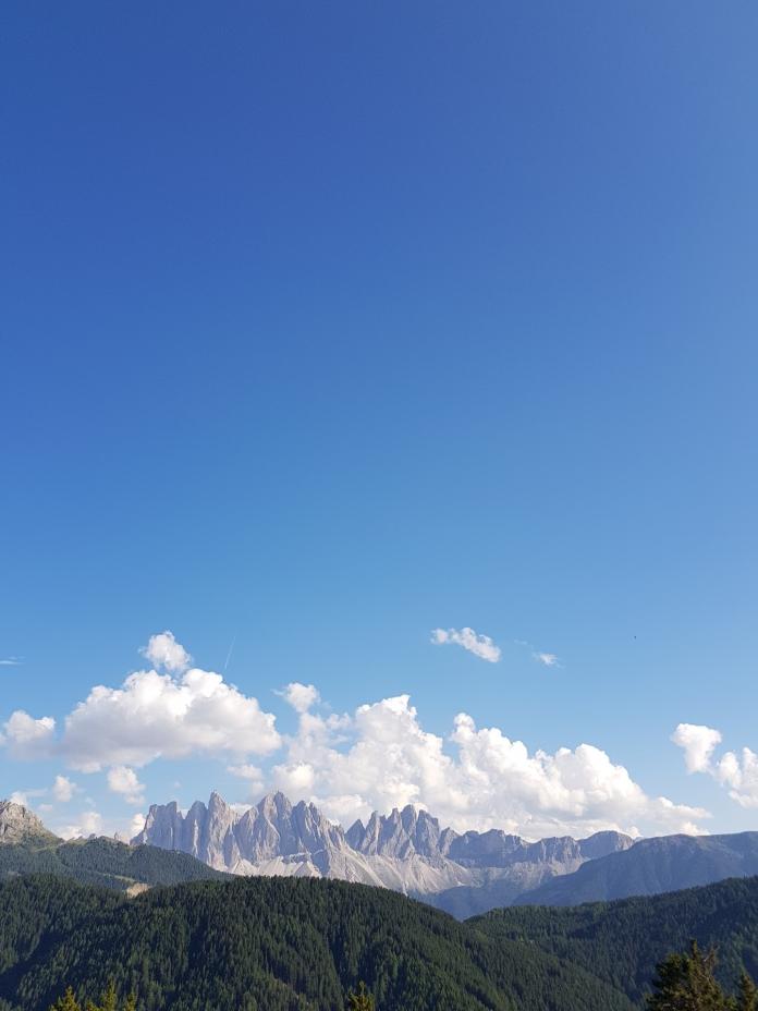 Die Dolomiten in voller Pracht