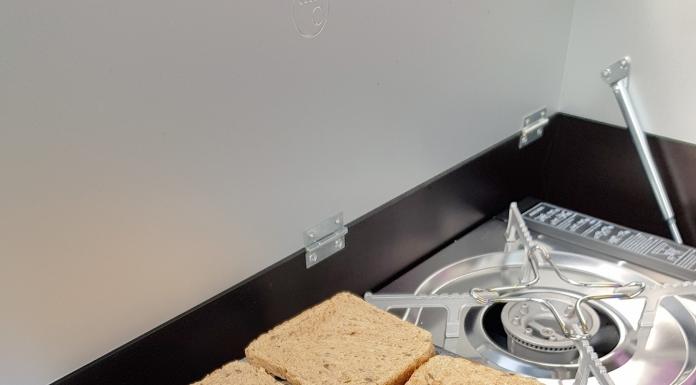 Toaster für den Gaskocher