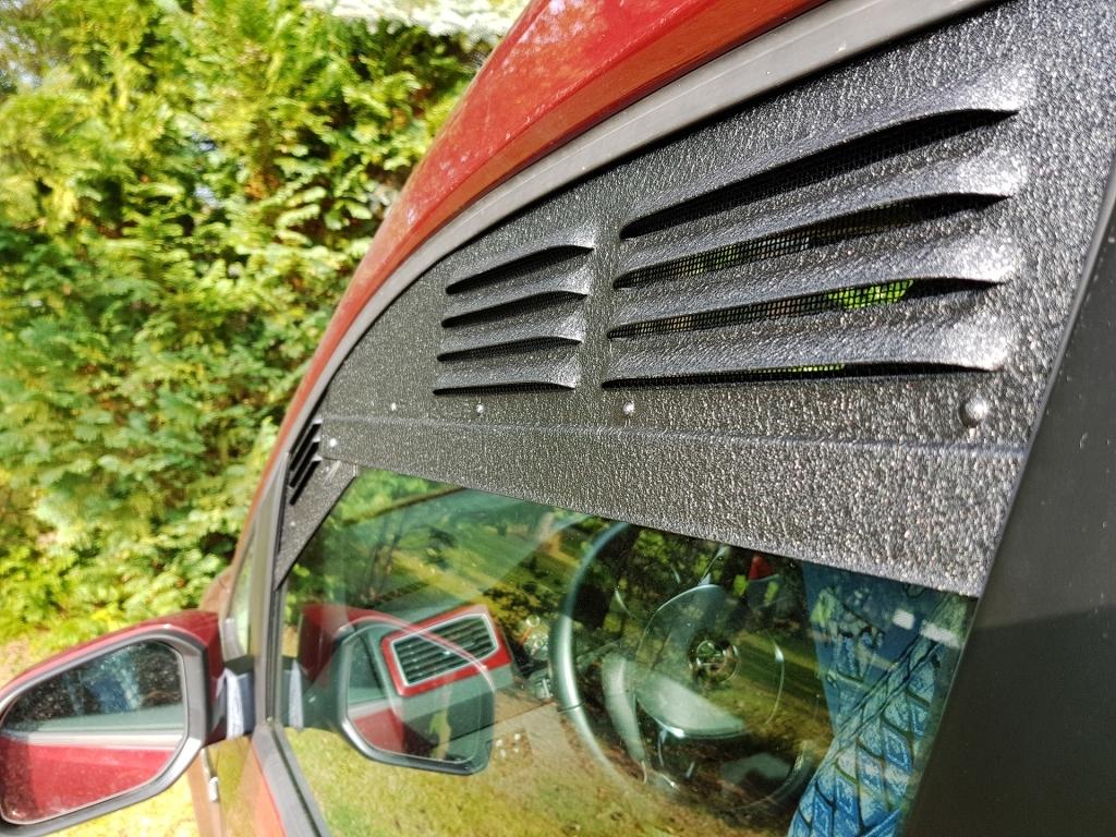 Lüftungsgitter für den VW Caddy
