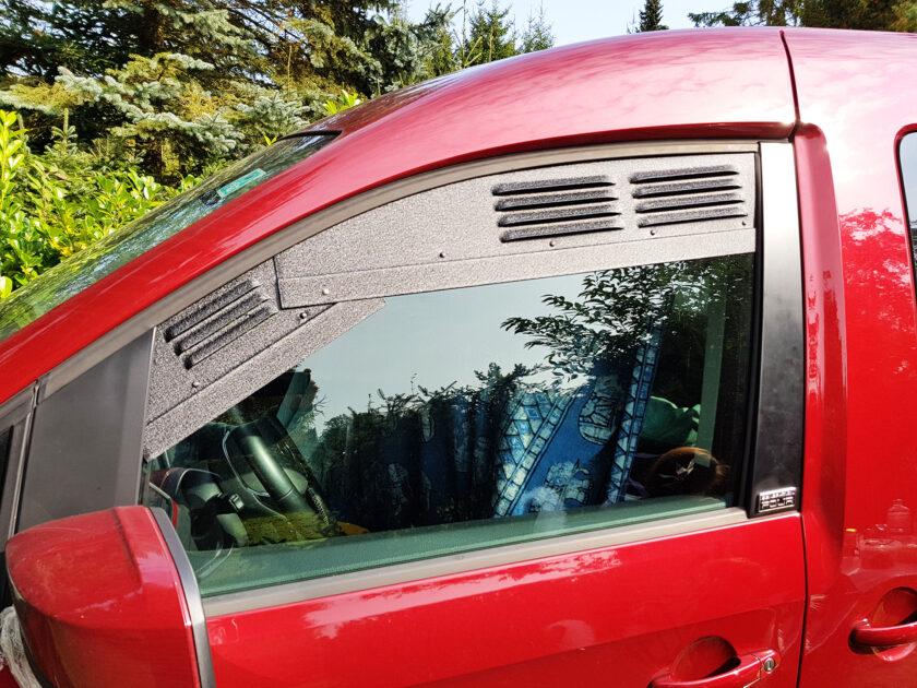 Frische Luft im VW Caddy