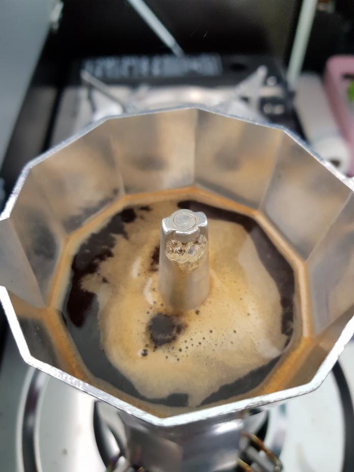 Lecker Kaffee vom Gaskocher