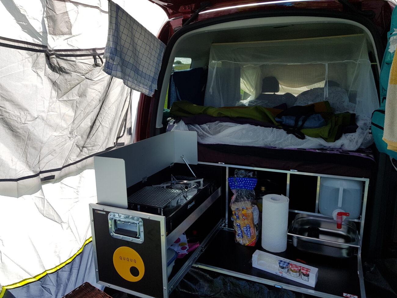 Im Test: Die QUQUQ Box für den VW Caddy