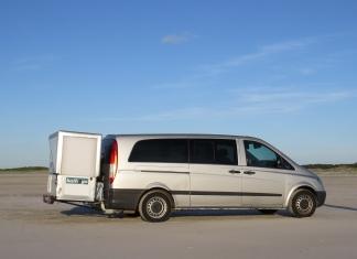 bath2go, die Badkabine für Campervans
