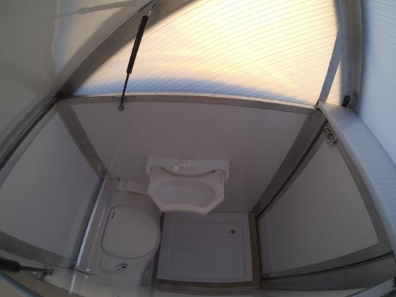 bath2go Badkabine für Campervans