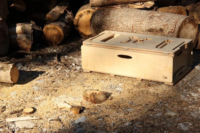 BiberBox im Holz