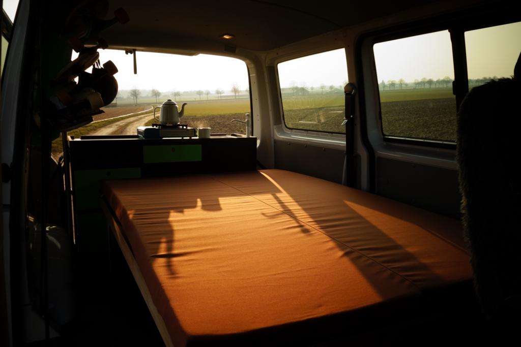 Fluchtfahrzeug Camping-Module