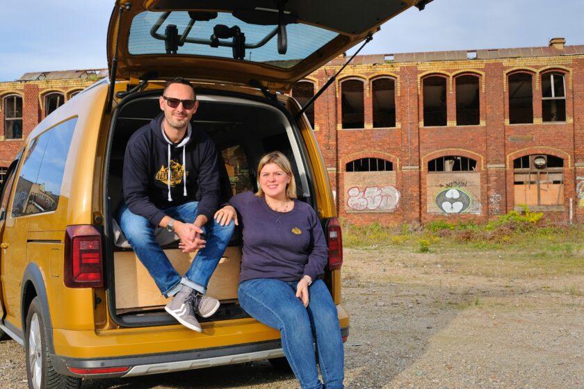 Uli und Juri von Travelcaddy