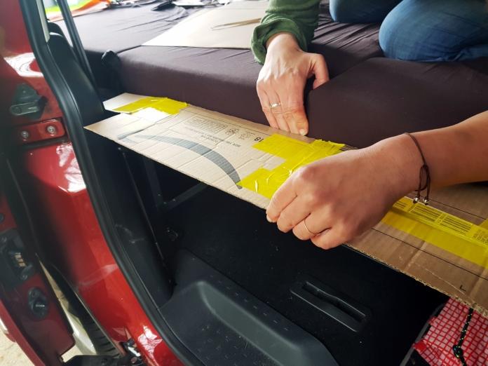 Erweiterung der QUQUQ Box Matratze für den VW Caddy