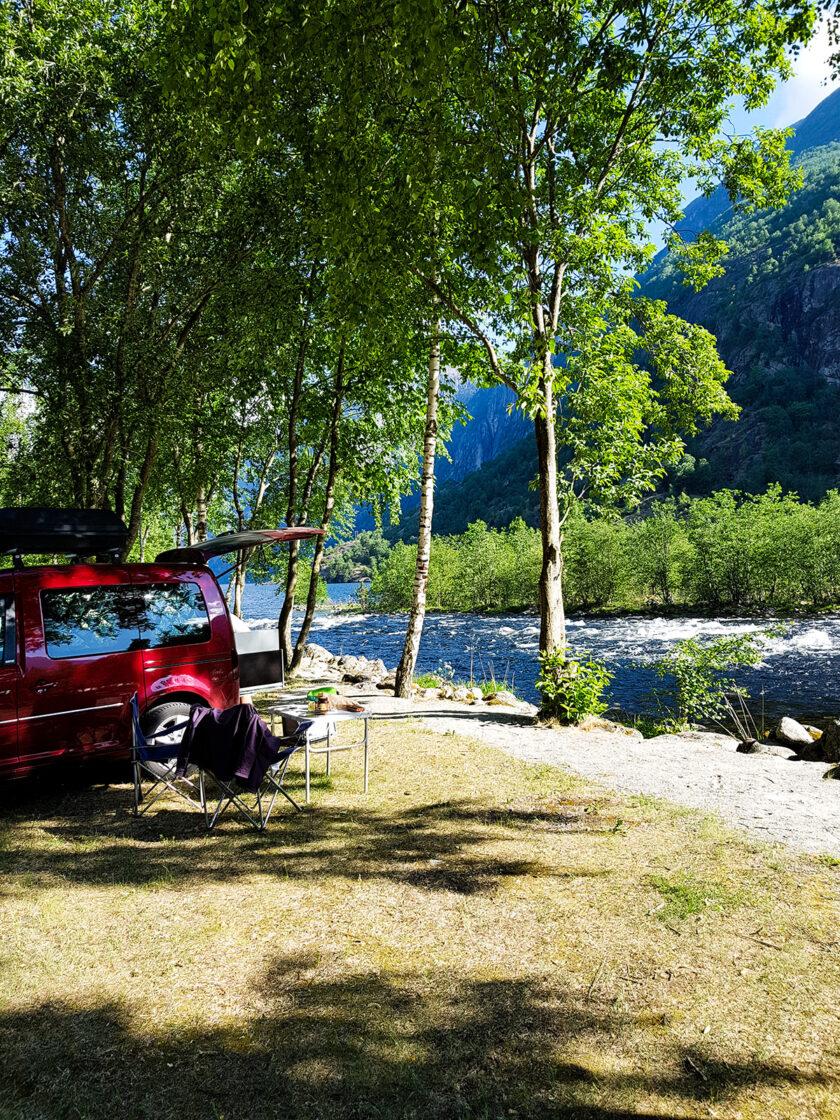 Camping am Eidfjord