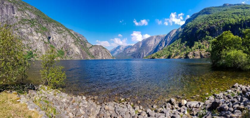 Panoramablick am Eidfjord