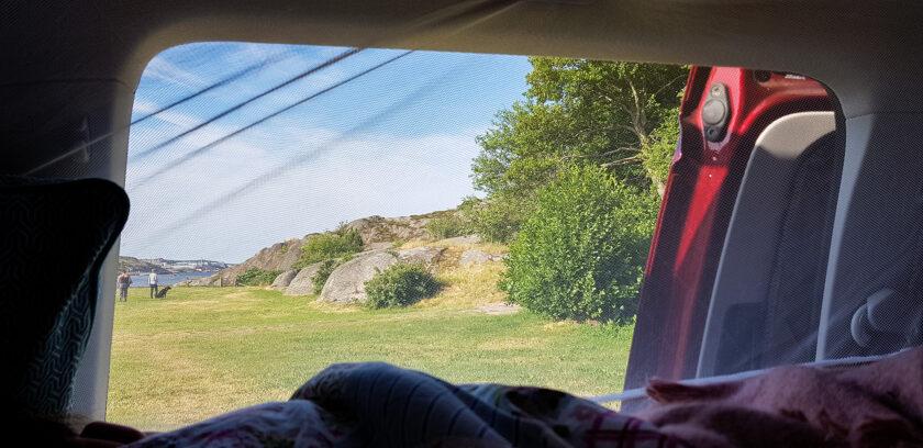Camping in Solvik