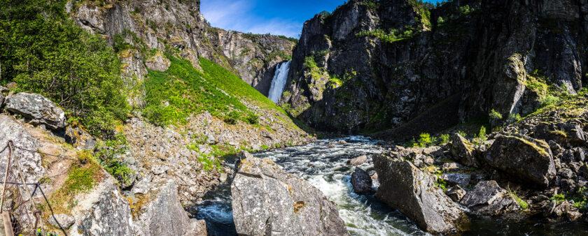 Der Weg zum Vøringsfossen