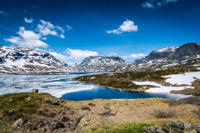 Schöne Landschaften ohne Ende in Norwegen