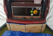 DIY Heckschürze für den VW Caddy
