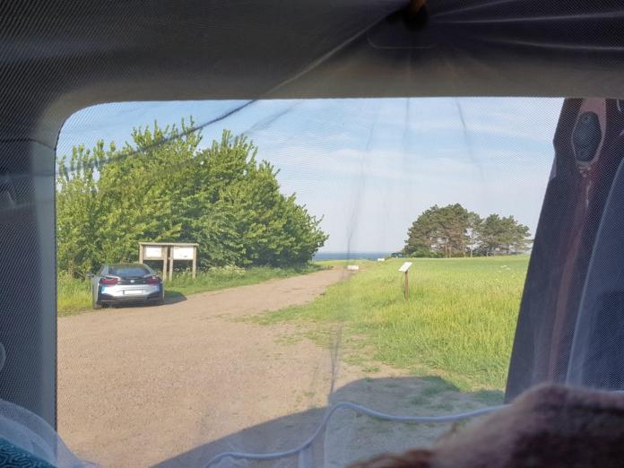 Der geheime Wildcamping Spot war gar nicht geheim