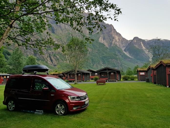 Unser erster Halt in Norwegen