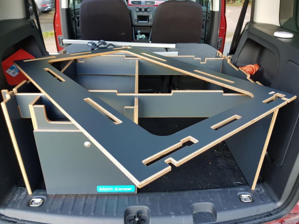 KAUA'I Camper Schlafsystem aufbauen - Schritt 4