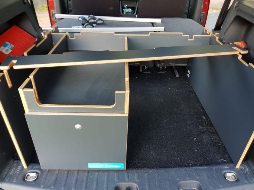 KAUA'I Camper Schlafsystem aufbauen - Schritt 3