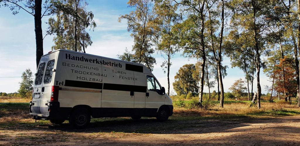 Fiat Ducato für den Ausbau zum DIY Camper