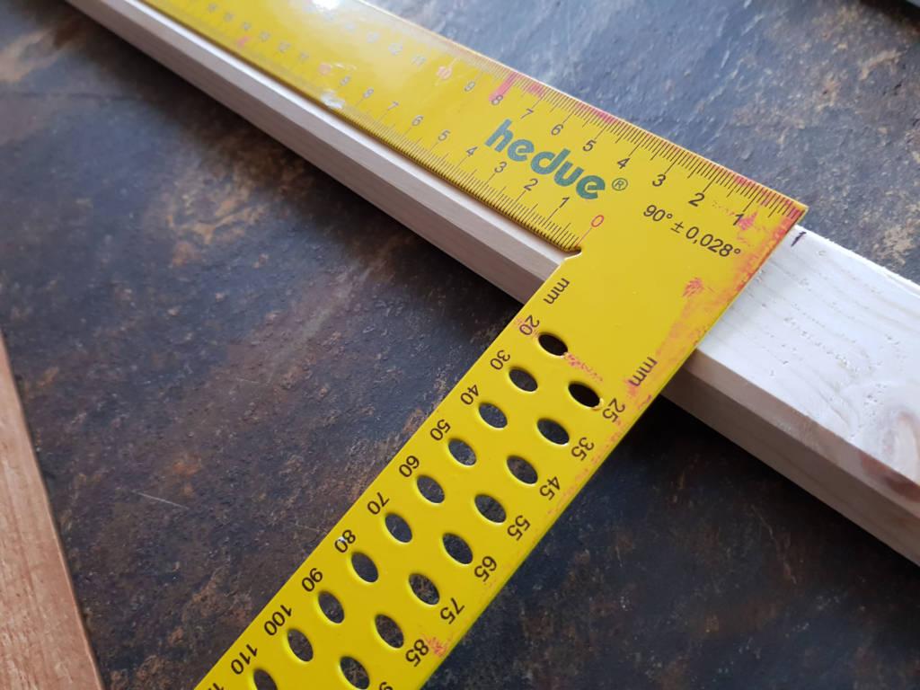 Holzrahmen abmessen
