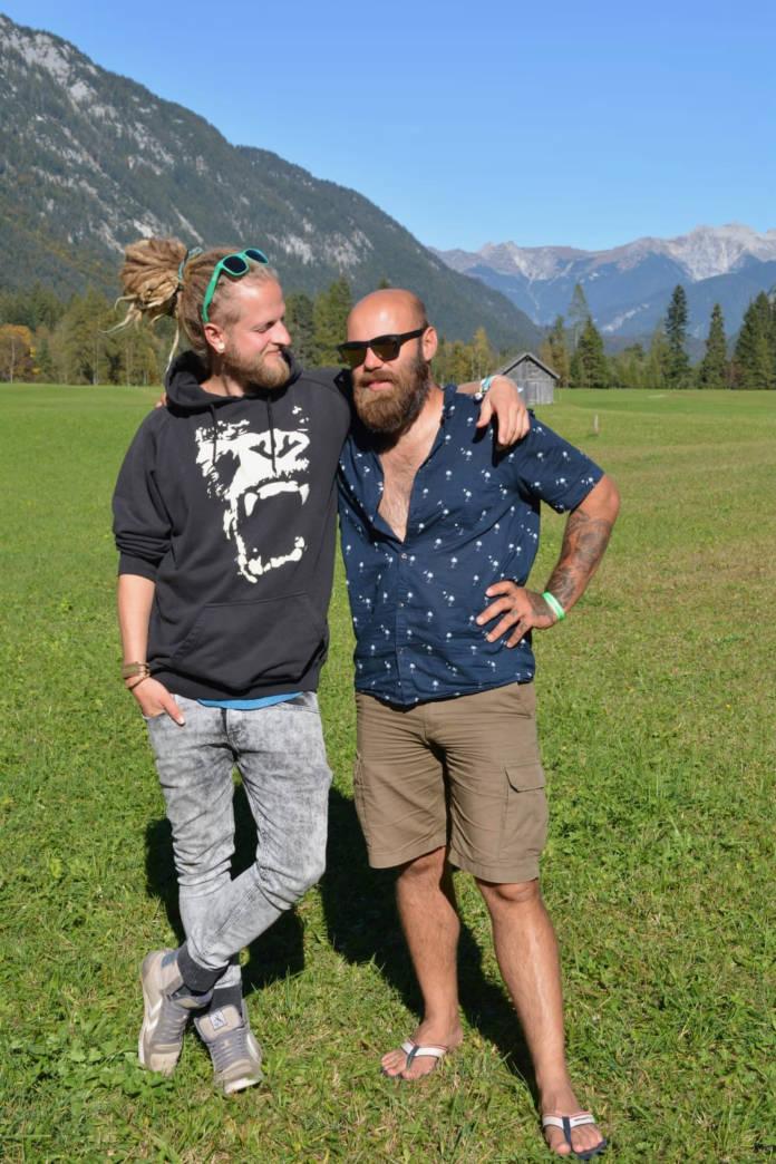 Christian Zahl und Marcus Breitfeld von Vanlust - Bewusst auf Rädern