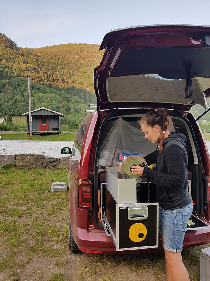 Camper Küche im Minicamper