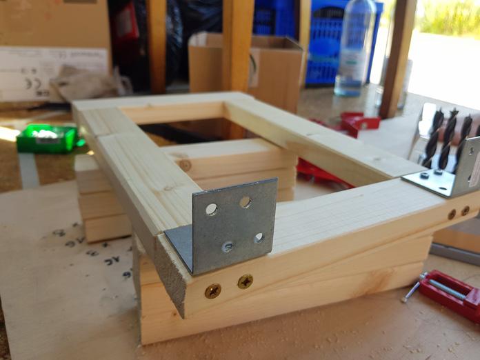 Holzleisten zusammen schrauben