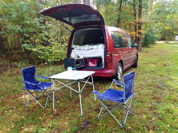 Vanlife mit der KAUA'I Campingbox