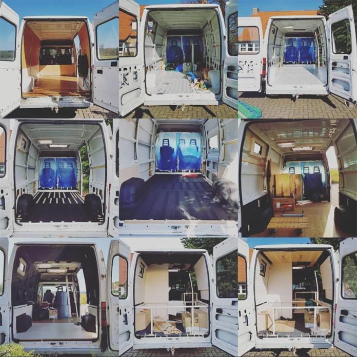 Unser DIY Camper im Wandel der Zeit