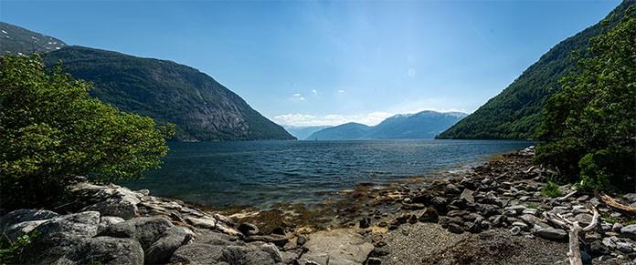 Fjord Panorama in Norwegen