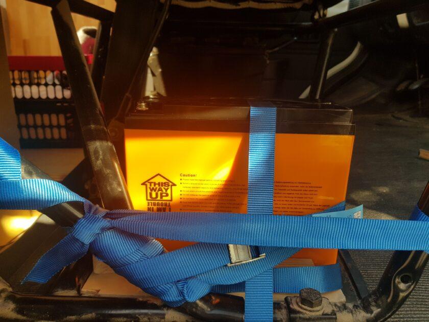 Bordbatterie DIY Wohnmobil