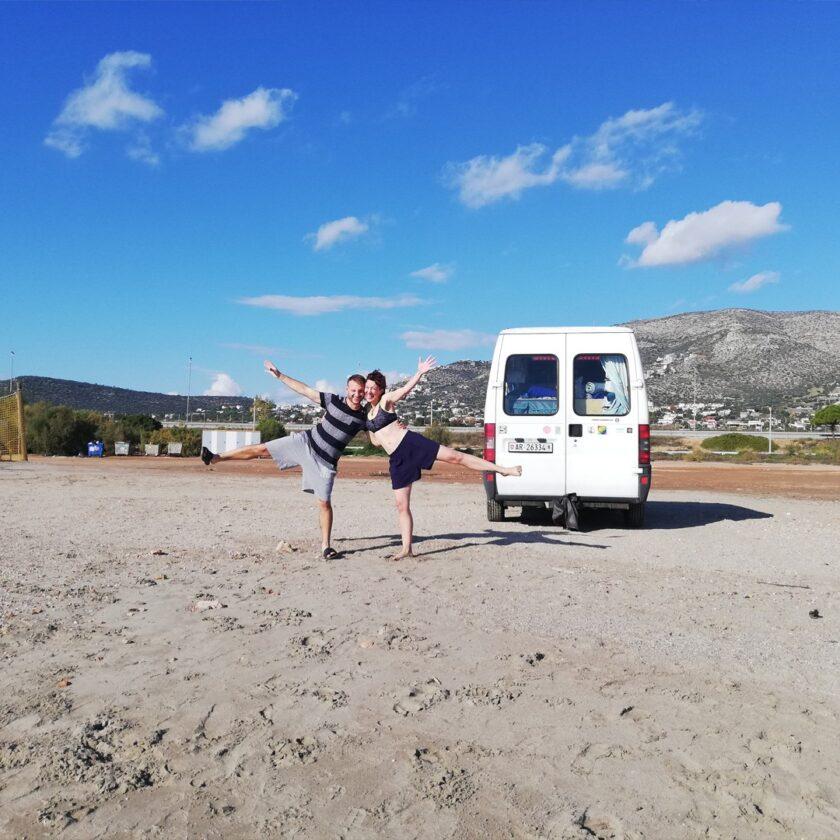 Olaf in a Van - Stefanie und Jeremy
