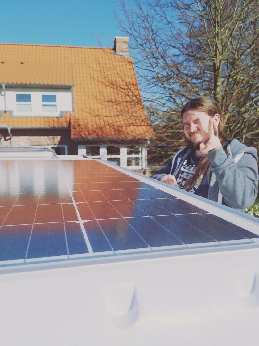 200 Watt Solaranlage