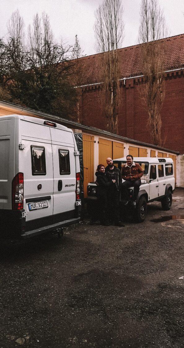 Juli und Vampy von anderswo-camper.de