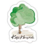 Kackbaum - Sticker