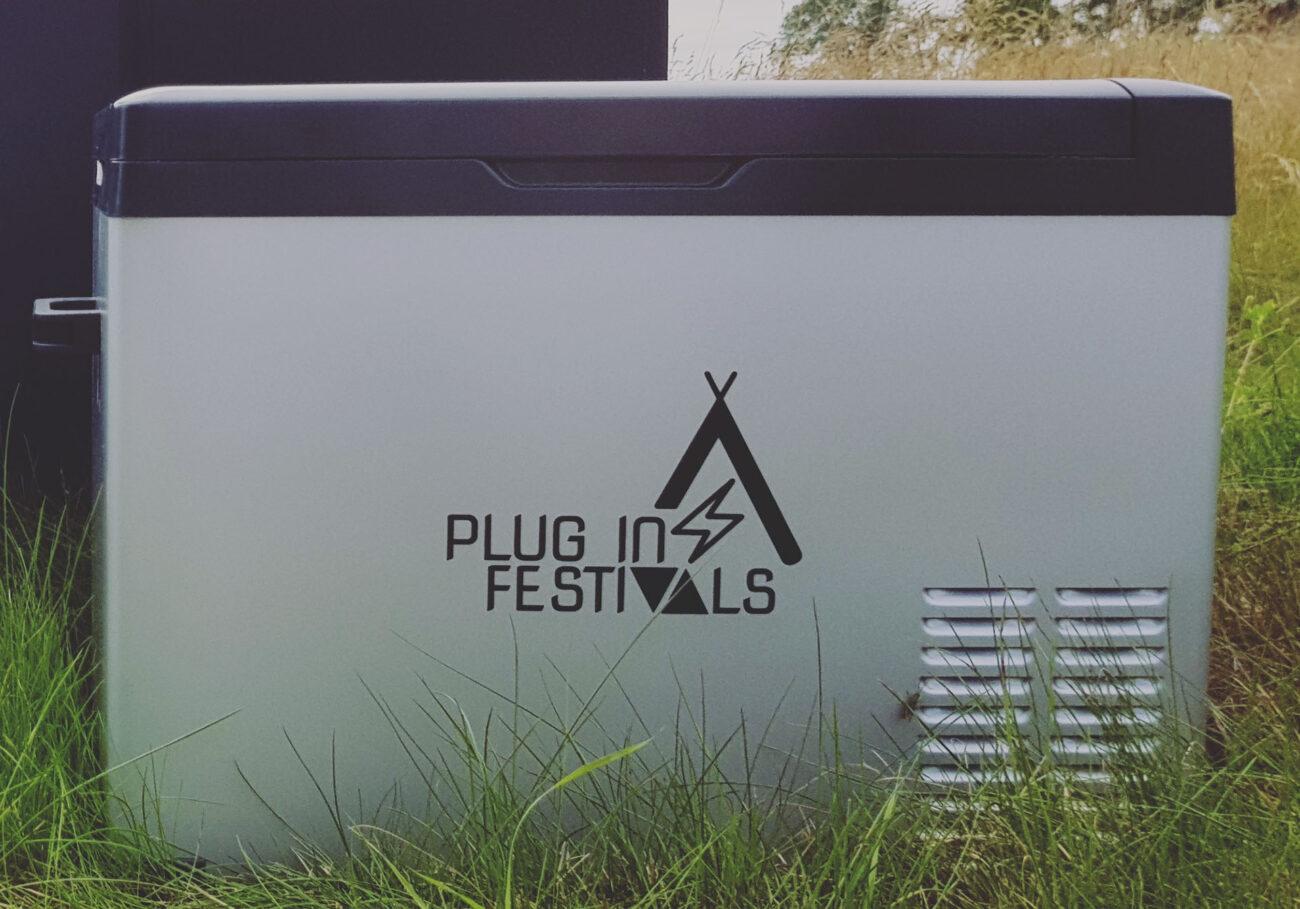 IceCube Kompressor Kühlbox von Plug in Festivals
