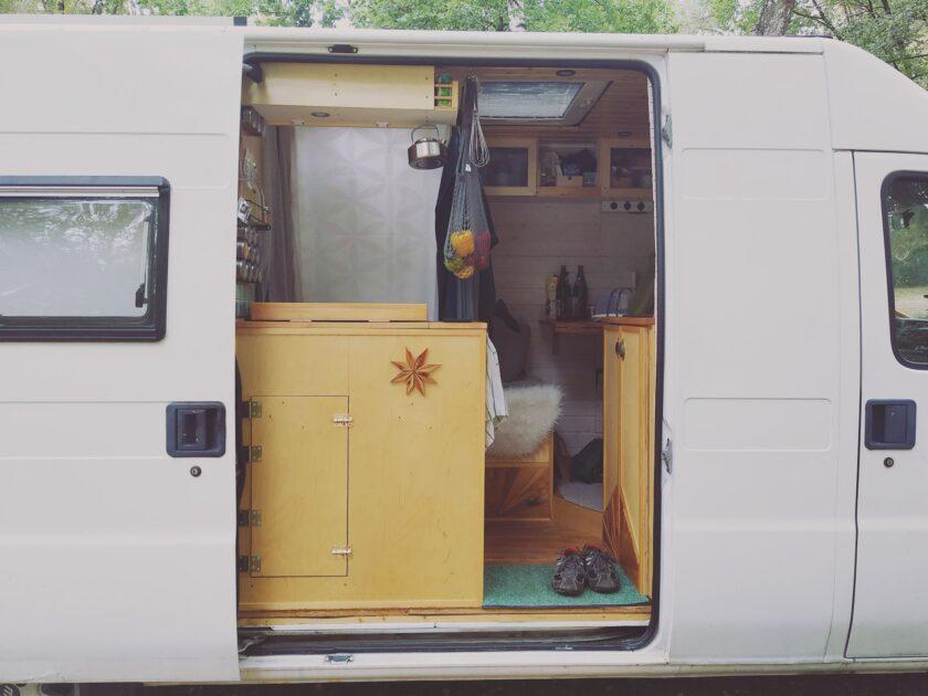 Der Einzug in unseren DIY Camper