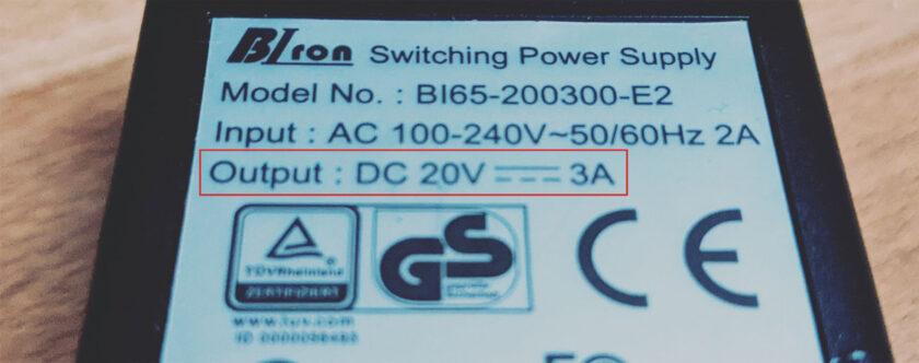 Netzteil 60 Watt