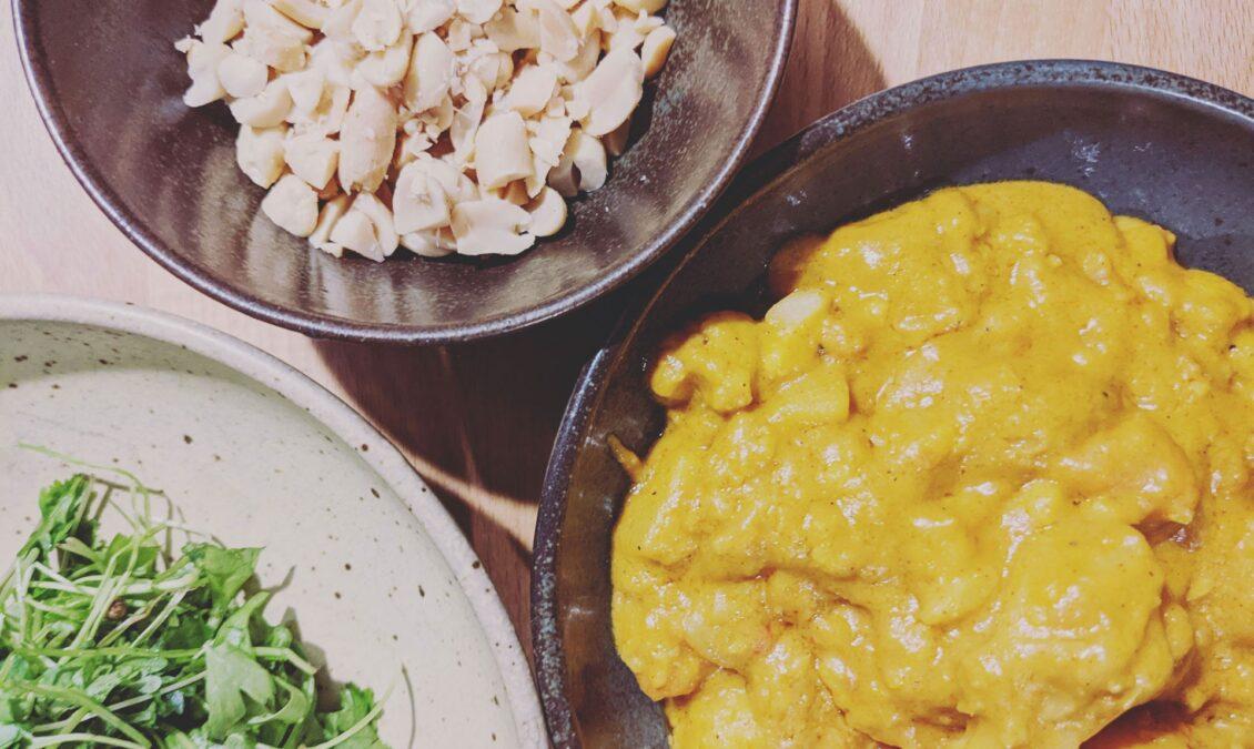 One Pot Erdnuss Curry