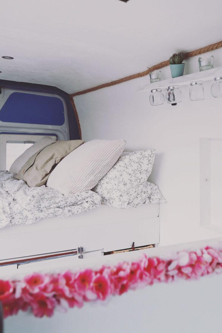 DIY Camper im griechischem Style