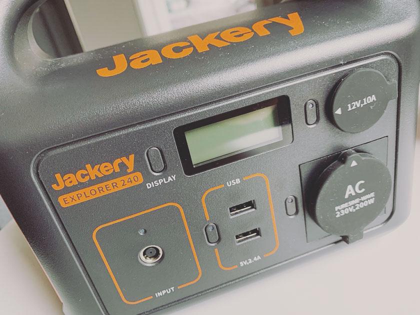 Jackery Powerstation Testgerät