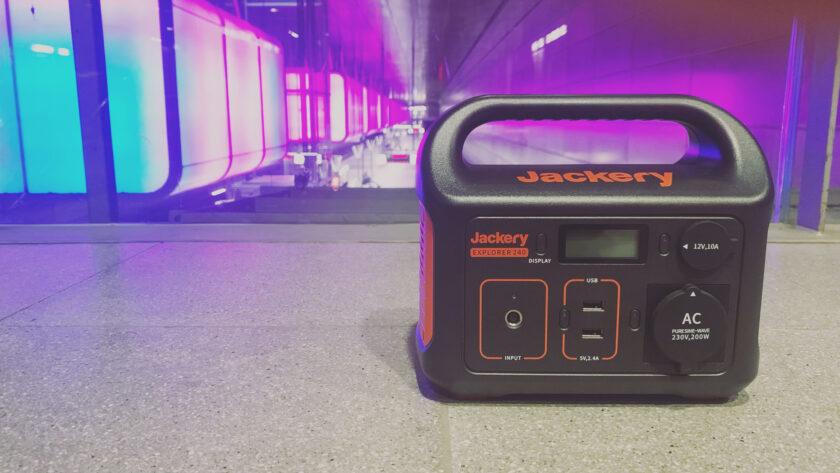 Jackery Explorer 240 Test und Erfahrungsbericht