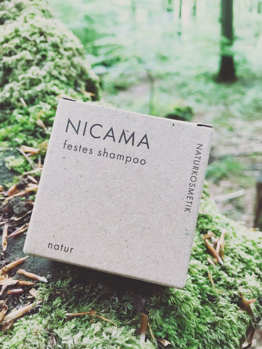 NICAMA Festes Shampoo Natur