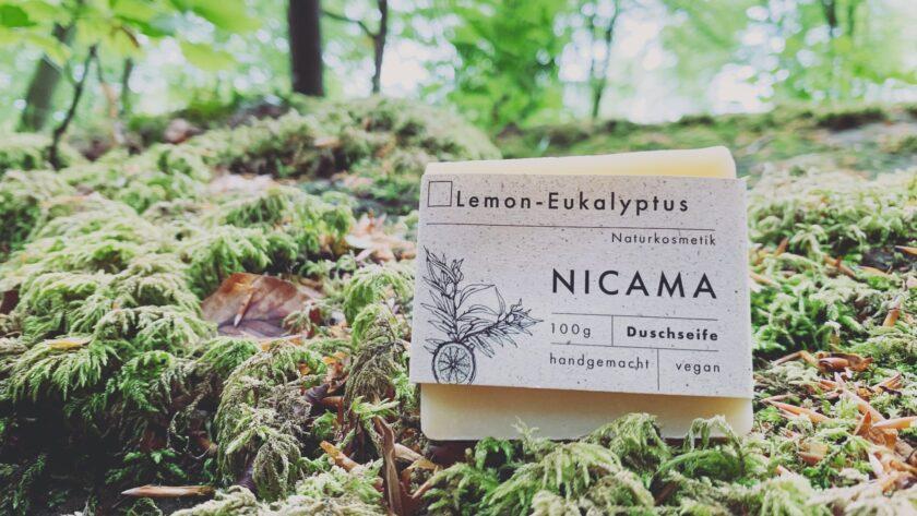 NICAMA Lemon Eukalyptus Duschseife