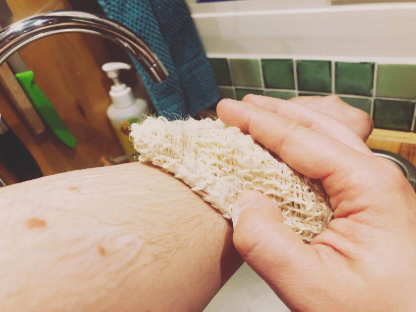NICAMA Sisal Säckchen mit Duschseife