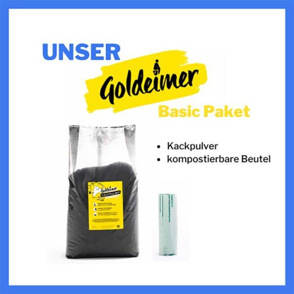 Goldeimer - Basic Zubehör Set - meinetrenntoilette.de