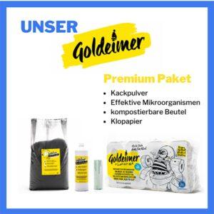 Goldeimer - Premium Zubehör Set - meinetrenntoilette.de
