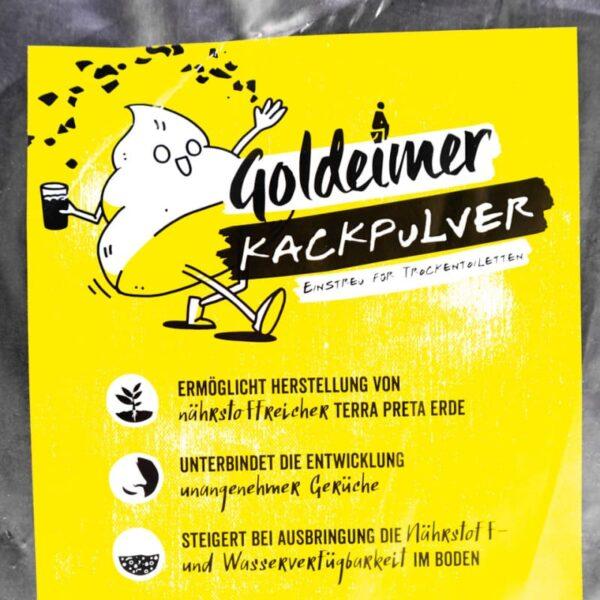 Goldeimer Kackpulver